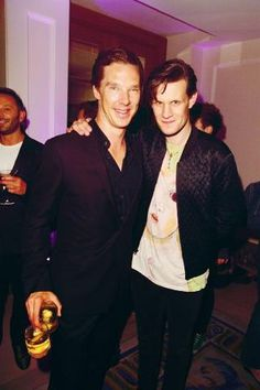 Hi, my lovely fellows. ;] Cumberbatch and Smith.