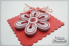• Sweet Handmade •: Martisoare Cute Diys, Projects To Try, Quilling Cards, Sweet, Blog, March, Handmade, Crafts, Fimo