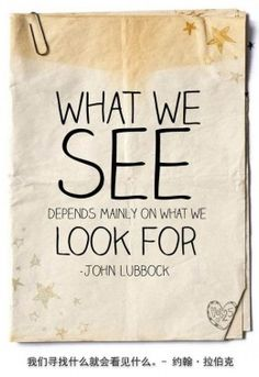 "Live life quotes .. Top 10 Live Life Quotes ""What we SEE depends mainly on what we look for"" - John Lubbock"