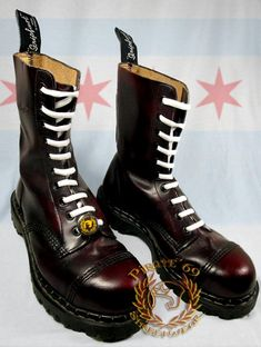 Affordable Dr Martens boots, Grinders shoes, Gripfast Footwear at Dr Martens Boots, Dr. Martens, Biker Boots, Combat Boots, Mod Fashion, Fashion Shoes, Chica Skinhead, Skinhead Boots, Men's Shoes