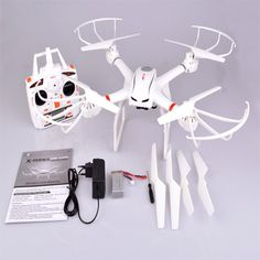 MJX X101 FPV Drones Quadcopter 2.4G 6-Axis Gyro RC Helicopter+C4008 HD Camera UK