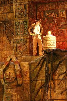 Indiana Jones Stunt Spectacular - Hollywood Studios Awesome show to see. Frenchy and I loved it