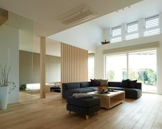 20 Japanese House Ornament in the Living Area - Tanzania Home Ideas Modern Japanese Interior, Japanese Modern House, Japanese Living Rooms, Living Room Sets, Home Living Room, Living Room Designs, Zen Design Interior, Muji Home, Apartment Interior