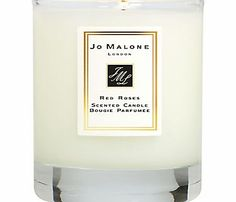 Jo Malone Red Roses Travel Candle, 60g Surround yourself with the voluptuous scent of Red Roses, unfolding like a freshly cut bouquet. The essence of modern romance Complimentary Jo Malone matches included. http://www.comparestoreprices.co.uk/home-accessories/jo-malone-red-roses-travel-candle-60g.asp