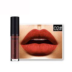 Need This:  LipstickBeautyVan Beautiful Women Fashion Waterproof Matte Liquid Lipstick Long Lasting Lip Gloss Lipstick B