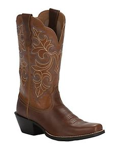93e2a42d6 Ariat Women s Dusty Dune Round Up Square Toe Western Boots Cuero