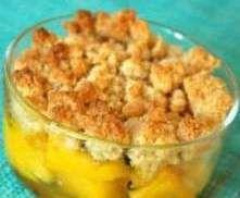 Recette Crumble aux pommes/mangues par clem09210 - recette de la catégorie Desserts & Confiseries