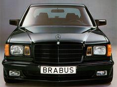 "nerviosismo: "" Brabus Mercedes S Class / W126 """