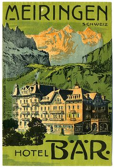 hotel Bar.jpg by Art of the Luggage Label, via Flickr