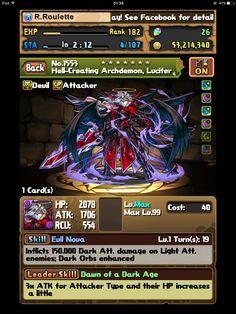 Hell-Creating Archdemon, Lucifer