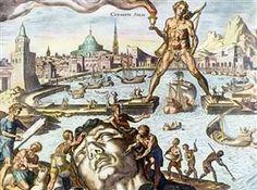 Kolossus van Rhodos - Maerten van Heemskerck