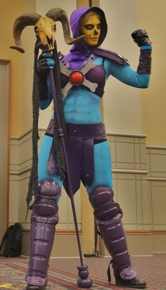 He-Man is no match for Lady Skeletor!