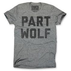 eu.Fab.com | Part Wolf Tee Grey