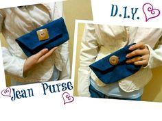 DIY Clothes DIY Refashion  D.I.Y. Jean Purse