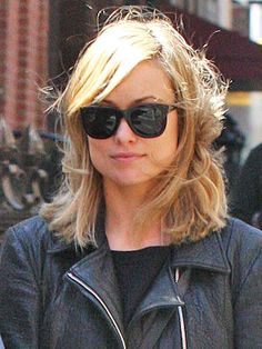Olivia Wilde's blonde hair