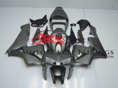 Matte Grey 2005-2006 Honda CBR600RR Kings Motorcycle Fairings Honda, Abs, Motorcycle, Grey, Style, Ash, Gray, Abdominal Muscles