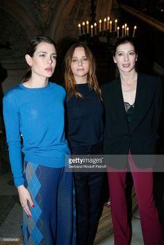 News Photo : Charlotte Casiraghi, Stylist Stella McCartney and...