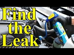 How To Find Ac Leaks In Your Car Uv Dye