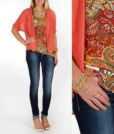 'Falling For Paisley' #buckle #fashion www.buckle.com