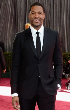 Michael Strahan - 2013 Academy Awards Red Carpet; I mean he is up there with shamar moore and jesse williams if ya know what I mean lol