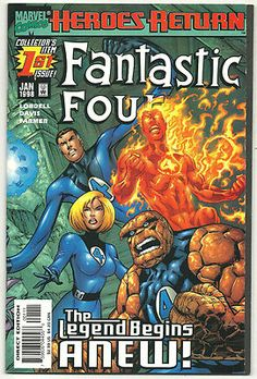 FANTASTIC FOUR (3rd series) 1-70, 500-553 Gorgeous RUN from Marvel! ~NM~ http://r.ebay.com/Age80s