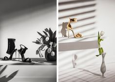 Quadriga - News - Set-designer Carole Gregoris for Zanotti Collection FW 14-15 : Lookbooks - the Technology behind the Talent.
