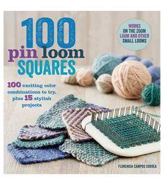 Florencia Campos Correa 100 Pin Loom Squares Book