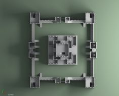 Generic Castle Model available on Turbo Squid, the world's leading provider of digital models for visualization, films, television, and games. Minecraft Posters, Minecraft Images, Minecraft City, Minecraft House Designs, Minecraft Construction, How To Play Minecraft, Minecraft Creations, Minecraft Projects, Minecraft Buildings