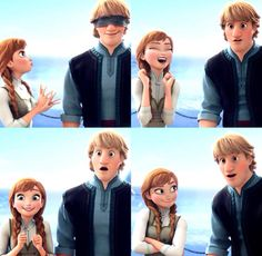 Frozen; I love how comfortable they were with each other throughout the entire movie, starting out as friends and then realizing how much they enjoyed each other's company.