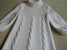 2Мои работы девочкам: кофты, свитера, туники, платья, комплекты Белое трио2