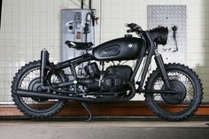 Blitz Motorcycles 1963 BMW R60/2.  This has been all over the Net with good reason. A beautiful take on a classic /2.