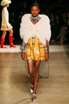 Miu Miu Fall 2017 Ready-to-Wear Fashion Show - Elizabeth Ayodele