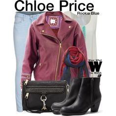 Inspired by Priscilla Faia as Chloe Price on Rookie Blue.