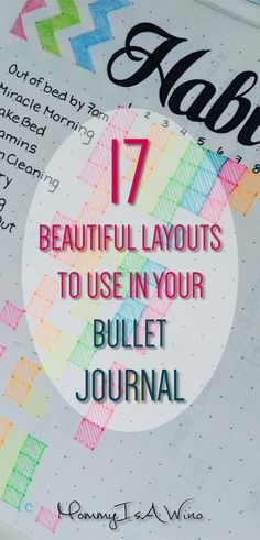 17 Beautiful Spreads To Use In Your Bullet Journal - Bullet Journal Layouts