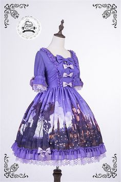 Precious Clove ~Rapunzel~ Lolita OP Dress - 4 Colors Available$147.99 - My Lolita Dress