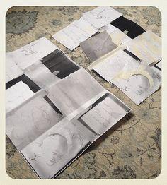 Dipping my toe back into my practice with my first zine & haiku's Haiku, Zine, Contemporary, Decor, Decoration, Decorating, Deco