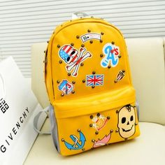 Backpack female backpack male school bag girls travel bag laptop bag  canvas-inBackpacks from Luggage a38272ac48031
