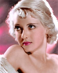 Color enhanced image by Hollywood Pinups from the b&w original. Golden Age Of Hollywood, Classic Hollywood, Old Hollywood, Hollywood Actresses, Blonde Celebrities, Celebrities Then And Now, Celebrity Mugshots, Bette Davis Eyes, Sophia Loren Images
