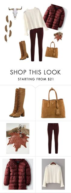 """""""Fashion"""" by keepsakedesignbycmm ❤ liked on Polyvore featuring Prada, WALL, rag & bone, American Eagle Outfitters, jewelry, accessories and gifts"""