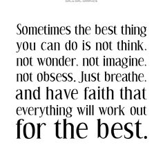 This is true - each day brings us closer!