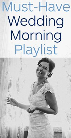 Getting ready can be just as fun as the day itself with this perfect wedding morning playlist! Spotify link included! Photo by Amanda Marie Studio.