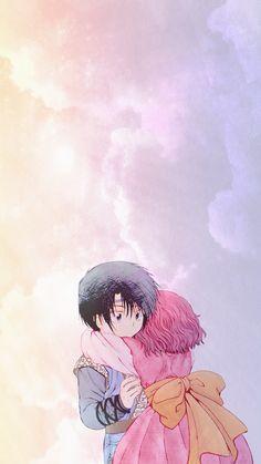 Little Hak & Yona anime phone wallpaper 🌸✨ Enjoy!