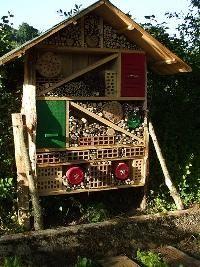 Domečky pro hmyz / Tipy, triky, rady / Harmonická zahrada pro klid a pohodu -