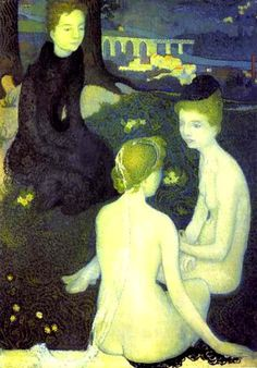 'Trinity Evening', 1891 - Maurice Denis