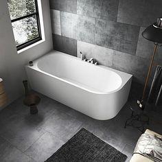 Dere, Clawfoot Bathtub, Corner Bathtub, Toilet, New Homes, House Styles, Interior, Design, Home Decor
