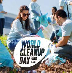 Environnement: une journée pour nettoyer tous ensemble la planète avec le World CleanUp Day 2018!