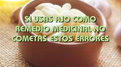 SI USAS AJO COMO REMEDIO MEDICINAL NO COMETAS ESTOS ERRORES
