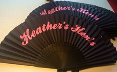Personalised Wedding Fans Favours Bespoke For Any And All Occasions