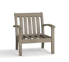 Chatham Occasional Chair - Gray #potterybarn