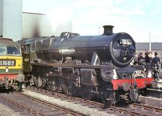 "45647 'Sturdee'. LMSR ""Jubilee"" class 4-6-0 at Leeds(City). 12 July 1964. Photo by Ricsrailpics"